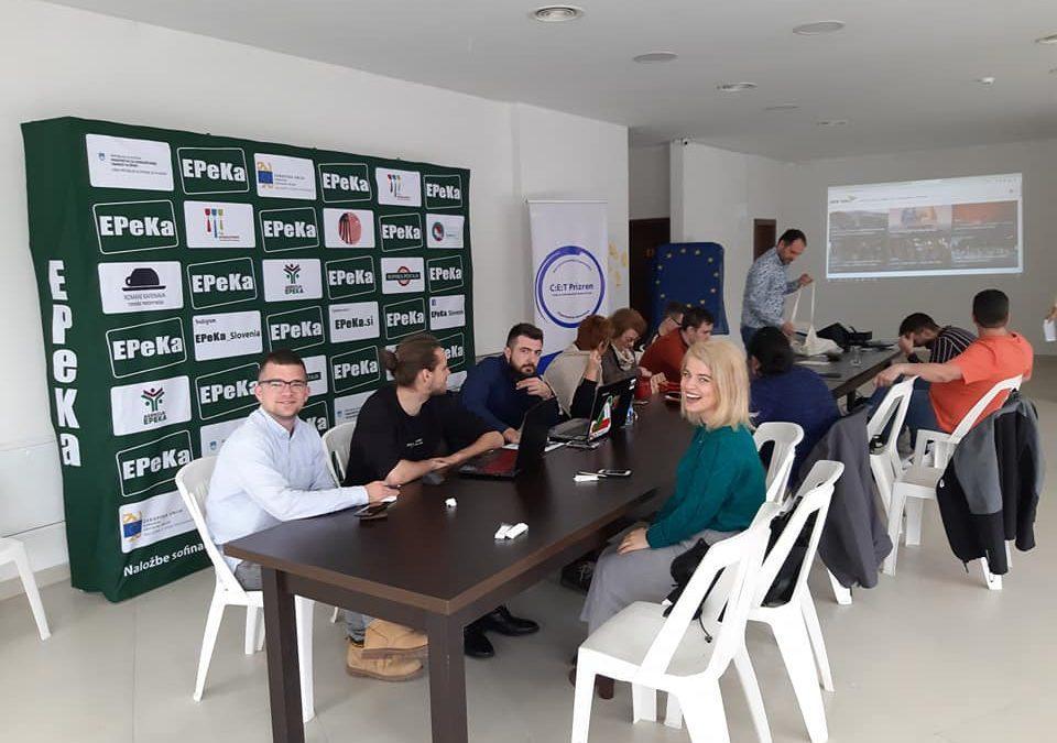 Kickoff meeting 12.-15. March 2019 Prizren, Kosovo